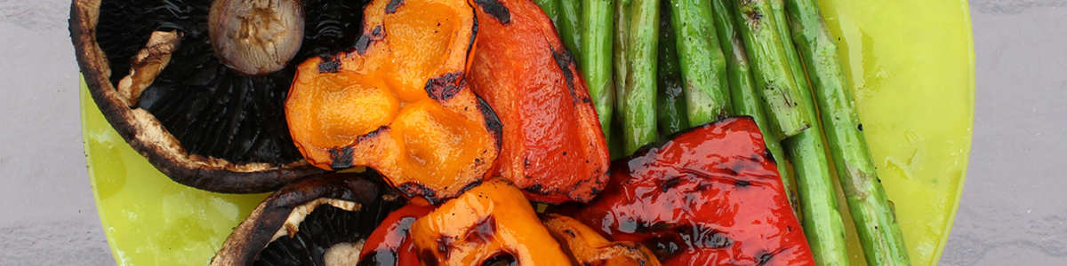 grill veggies
