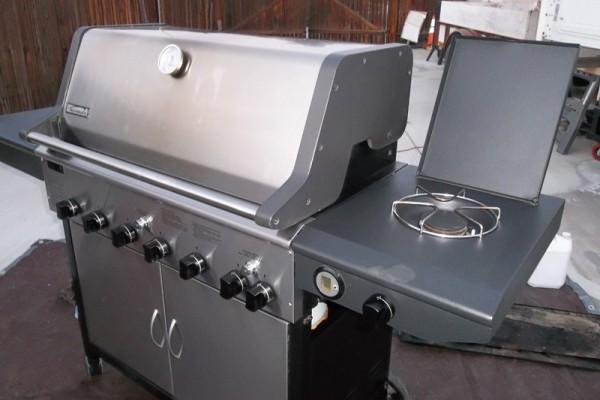 clean grill bbq